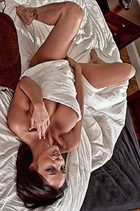 Grey Hoodie @ NikkisPlaymates.com
